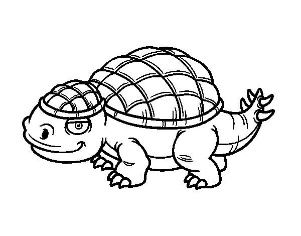Coloriage de Ankylosaure pour Colorier