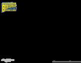 <span class='hidden-xs'>Coloriage de </span>Bob l'éponge - Planktor à l'attaque à colorier