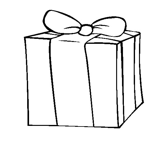 Coloriage de cadeau pour colorier - Cadeau coloriage ...