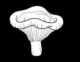 <span class='hidden-xs'>Coloriage de </span>Champignon paxillus involutus à colorier