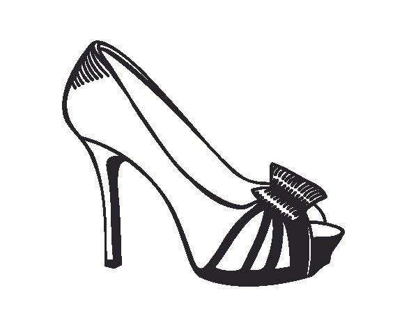 Footjob avec une chaussure plate