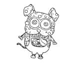 Dibujo de Chien Minion