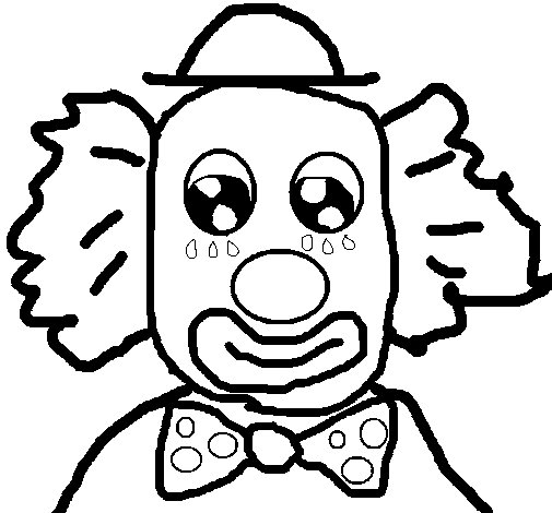 Coloriage de clown 2a pour colorier - Coloriage clown a imprimer ...