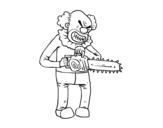<span class='hidden-xs'>Coloriage de </span>Clown assassin à colorier