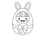 <span class='hidden-xs'>Coloriage de </span>Costume de Pâques à colorier