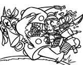 Dibujo de Coup de ninja