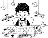 <span class='hidden-xs'>Coloriage de </span>Créativité des enfants à colorier