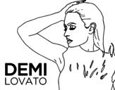 <span class='hidden-xs'>Coloriage de </span>Demi Lovato Confident à colorier