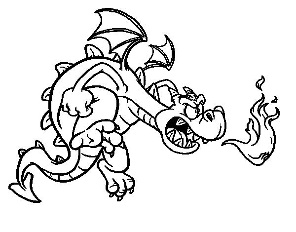 Coloriage de dragon mal fique pour colorier - Dessin de malefique ...