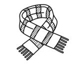 Dibujo de Écharpe à rayures