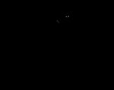 <span class='hidden-xs'>Coloriage de </span>Griffe de panthère à colorier