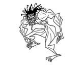 Dibujo de Homme troll