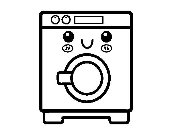 Coloriage de lave linge pour colorier for Concevez et construisez votre propre maison en ligne