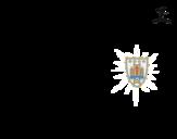 <span class='hidden-xs'>Coloriage de </span>Maillot de la coupe du monde 2014 de l'Uruguay à colorier