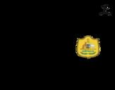 <span class='hidden-xs'>Coloriage de </span>Maillot de la coupe du monde 2014 de l'Australie à colorier