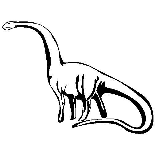 Coloriage de mamenchisaurus pour colorier - Coloriage diplodocus ...