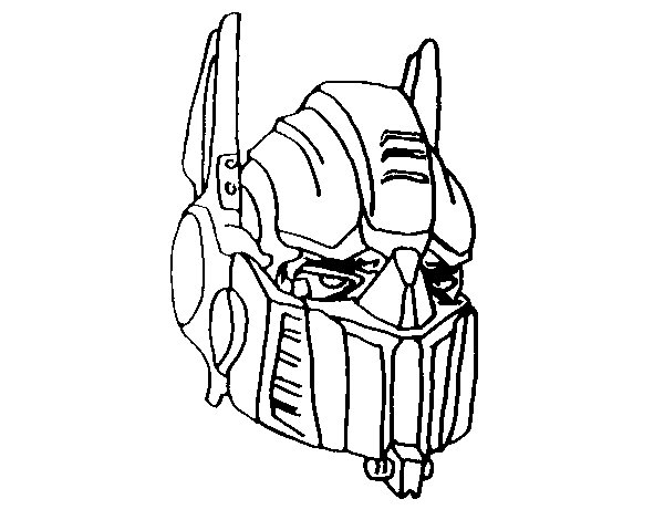 Coloriage de optimus prime pour colorier - Dessin optimus prime ...