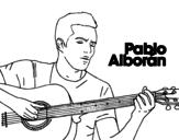Dibujo de Pablo Alborán - Solamente tú