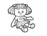 Dibujo de Poupée de jouets