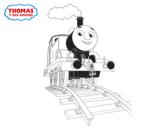 <span class='hidden-xs'>Coloriage de </span>Thomas en cours à colorier