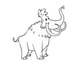 Dibujo de Un Mammouth