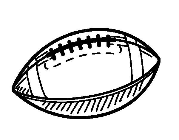 Coloriage de Une balle de baseball pour Colorier