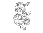 Dibujo de Une Fée magique