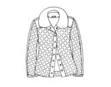 <span class='hidden-xs'>Coloriage de </span>Une veste à colorier