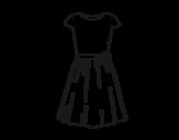 <span class='hidden-xs'>Coloriage de </span>Vêtement décontracté à colorier