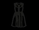<span class='hidden-xs'>Coloriage de </span>Vêtement d'été à colorier