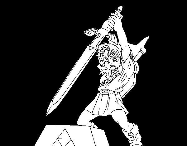 Coloriage De Zelda Pour Colorier