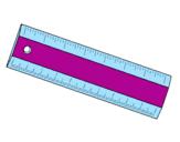 Coloriage Règle colorié par regle