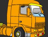 Coloriage Camion colorié par aurénico