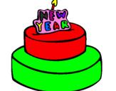 Coloriage Gâteau colorié par 05DE05D005D505E8