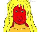 Coloriage Homo Sapiens colorié par malfagote