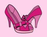 Chaussures avec ruban