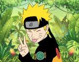 Naruto tirant la langue