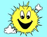 Soleil qui brille