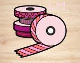 Coloriage Washi Tape colorié par lomanlou