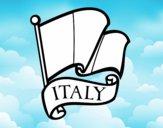 Drapeau de l'Italie