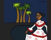 Coloriage Colombie colorié par KAKE2
