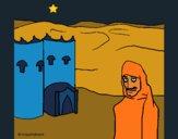 Coloriage Maroc colorié par KAKE2