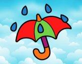 Parapluie ouvert
