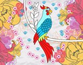 Tatouage de perroquet