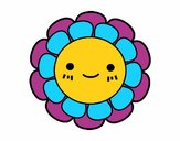 Fleurette enfantin