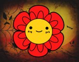 Fleur enfantin