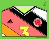 Maillot de la coupe du monde 2014 de la Colombie