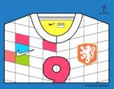 Maillot de la coupe du monde 2014 de la Hollande