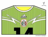 Maillot de la coupe du monde 2014 du Mexique