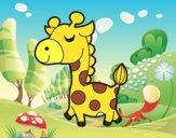 Girafe prétencieuse